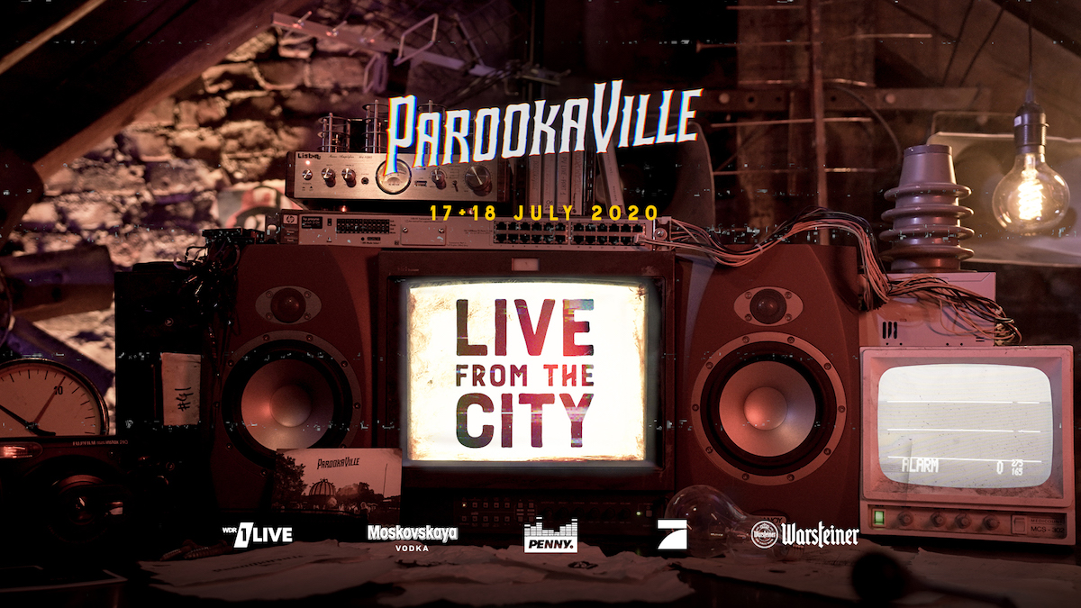 PAROOKAVILLE Live from the city 1200